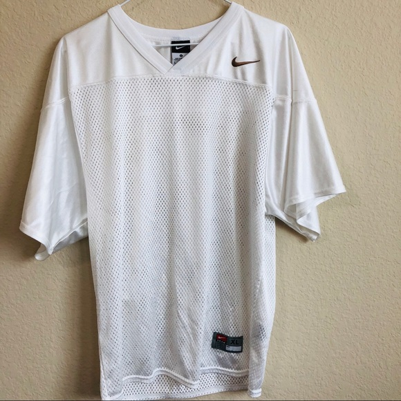 huge discount 020f3 6050f Nike White Recruit Practice Football Jersey